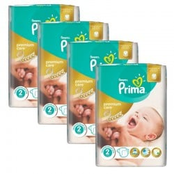 Maxi Pack 110 Couches Pampers Premium Care - Prima taille 2