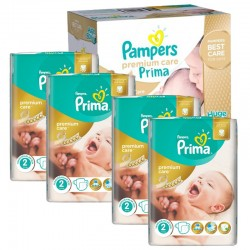 Maxi Pack 440 Couches Pampers Premium Care - Prima taille 2 sur 123 Couches