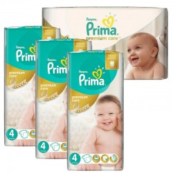 Maxi Pack 240 Couches Pampers Premium Care - Prima taille 4 sur 123 Couches