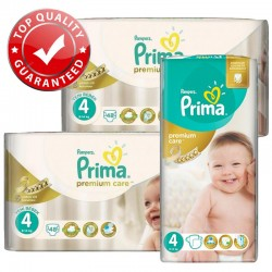 Maxi Pack 560 Couches Pampers Premium Care - Prima taille 4 sur 123 Couches