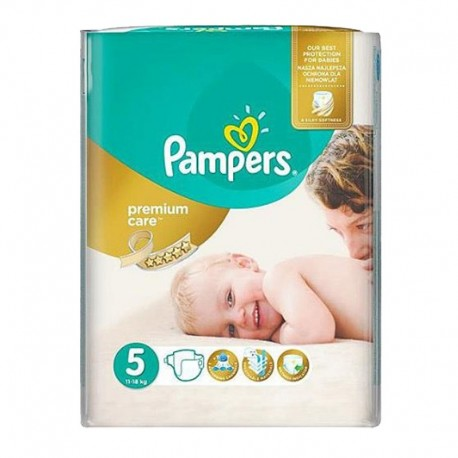 Pack 26 Couches Pampers Premium Care - Prima taille 5 sur 123 Couches