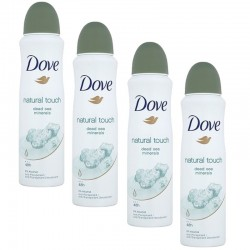 Lot 4 Deodorants Dove Natural Touch sur 123 Couches