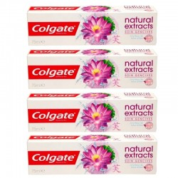 Lot 4 Dentifrices Colgate Natural Extracts Soin Gencives sur 123 Couches