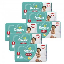 Maxi Pack 260 Couches Pampers Baby Dry Pants taille 3 sur 123 Couches