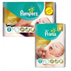 Pack 114 Couches Pampers New Baby Premium Care taille 2 sur 123 Couches