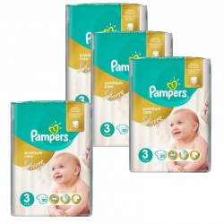 Giga Pack 100 Couches Pampers Premium Care - Prima taille 3 sur 123 Couches