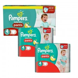 Giga Pack 188 Couches Pampers Baby Dry Pants taille 4 sur 123 Couches