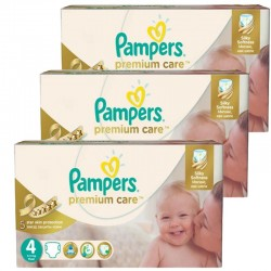 Giga Pack 420 Couches Pampers Premium Care - Prima taille 4 sur 123 Couches