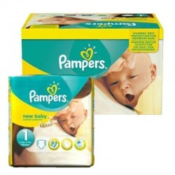 Pack 96 Couches Pampers New Baby Premium Protection taille 1 sur 123 Couches