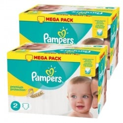Maxi Pack 330 Couches Pampers new baby - premium protection sur 123 Couches