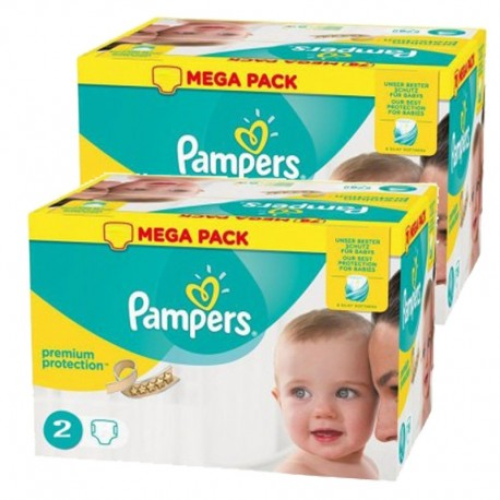 Maxi Pack 330 Couches Pampers New Baby Premium Protection sur 123 Couches