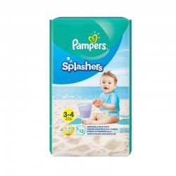 Pack 12 Couches de Bain Pampers SPLASHERS sur 123 Couches