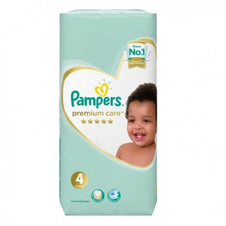 Pack 34 Couches Pampers New Baby Premium Care taille 4 sur 123 Couches