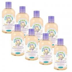 Pack de 8 Gels Douche Shampoing Bio Pour Bébé à la Mandarine sur 123 Couches