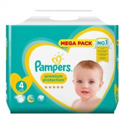 Pack 82 Couches Pampers New Baby Premium Protection taille 4 sur 123 Couches
