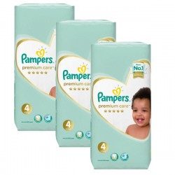 Pack jumeaux 510 Couches Pampers New Baby Premium Care taille 4
