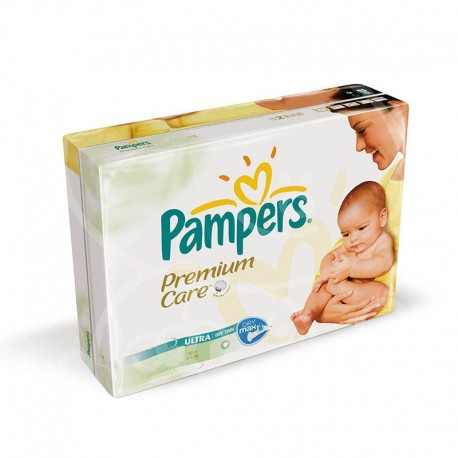 Pack jumeaux 616 Couches Pampers Premium Care taille 1 sur 123 Couches