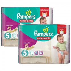 Giga pack 210 Couches Pampers Active Fit Pants sur 123 Couches