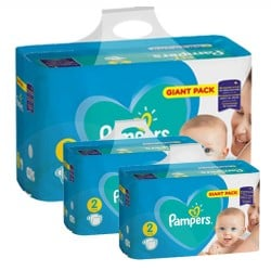 Mega pack 188 Couches Pampers Active Baby Dry taille 2 sur 123 Couches