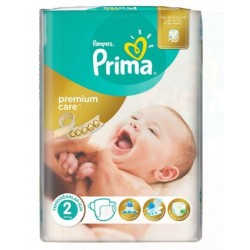 Pack 80 Couches Pampers New Baby Premium Care taille 2