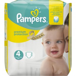 Pack 24 Couches Pampers New Baby Premium Protection taille 4 sur 123 Couches