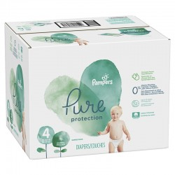 Giga pack 280 Couches Pampers Pure Protection taille 4 sur 123 Couches