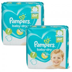 Giga pack 290 Couches Pampers Baby Dry taille 7 sur 123 Couches