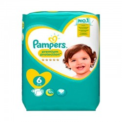 Pack 31 Couches Pampers New Baby Premium Protection taille 6 sur 123 Couches