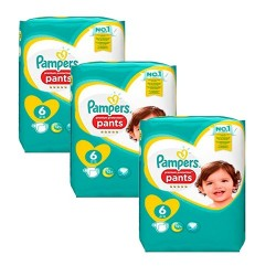Giga pack 224 Couches Pampers Premium Protection Pants taille 6 sur 123 Couches