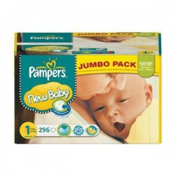 Mega pack 176 Couches Pampers Premium Protection taille 1