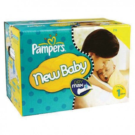 Giga pack 264 Couches Pampers Premium Protection taille 1 sur 123 Couches