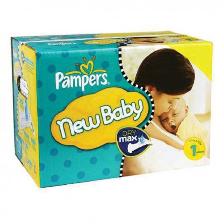 Maxi giga pack 396 Couches Pampers Premium Protection taille 1 sur 123 Couches