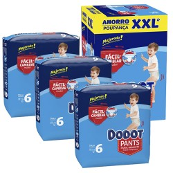 Mega pack 168 Couches Dodot 0 taille 6 sur 123 Couches