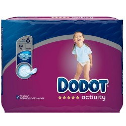 Pack 39 Couches Dodot Activity taille 6 sur 123 Couches