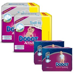 Mega pack 117 Couches Dodot Activity taille 6 sur 123 Couches