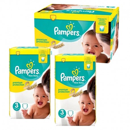 Pack 87 Couches Pampers Premium Protection taille 3 sur 123 Couches