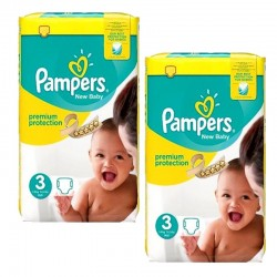 Giga pack 261 Couches Pampers Premium Protection taille 3