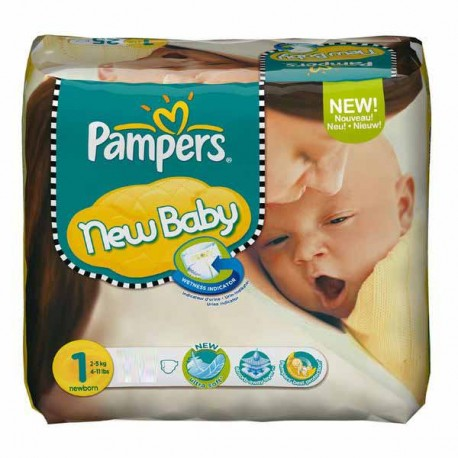 Pack 56 Couches Pampers Premium Protection taille 1 sur 123 Couches