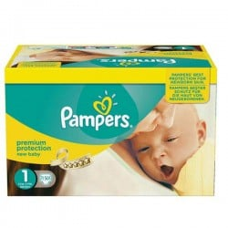 Giga pack 224 Couches Pampers Premium Protection taille 1