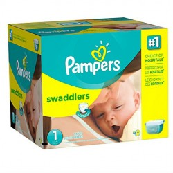 Giga pack 280 Couches Pampers Premium Protection taille 1