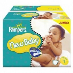 Pack jumeaux 616 Couches Pampers Premium Protection taille 1