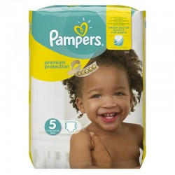 Pack 68 Couches Pampers Premium Protection taille 5 sur 123 Couches