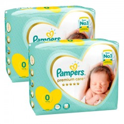 Giga pack 210 Couches Pampers Premium Care taille 0 sur 123 Couches