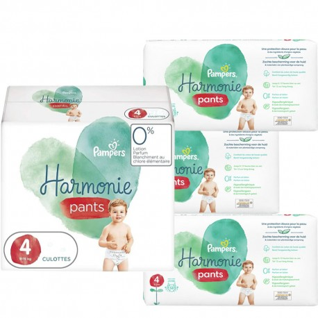 Maxi mega pack 464 Couches Pampers Harmonie Pants taille 4 sur 123 Couches