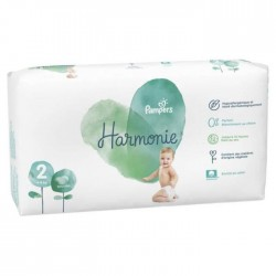 Pack 78 Couches Pampers Harmonie taille 2