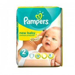 Pack 31 Couches Pampers Premium Protection taille 2 sur 123 Couches