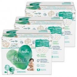Pack 88 Couches Pampers Pure Protection taille 3