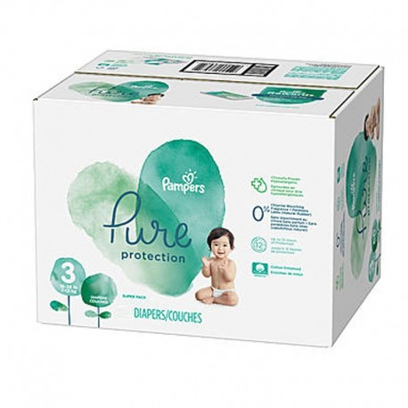 Giga pack 242 Couches Pampers Pure Protection taille 3 sur 123 Couches