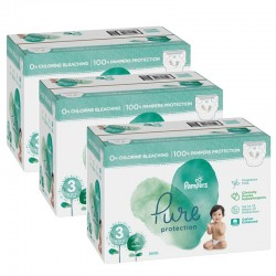 Giga pack 286 Couches Pampers Pure Protection taille 3