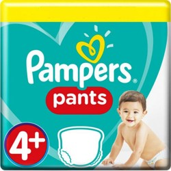 Maxi giga pack 300 Couches Pampers Baby Dry Pants taille 4+ sur 123 Couches